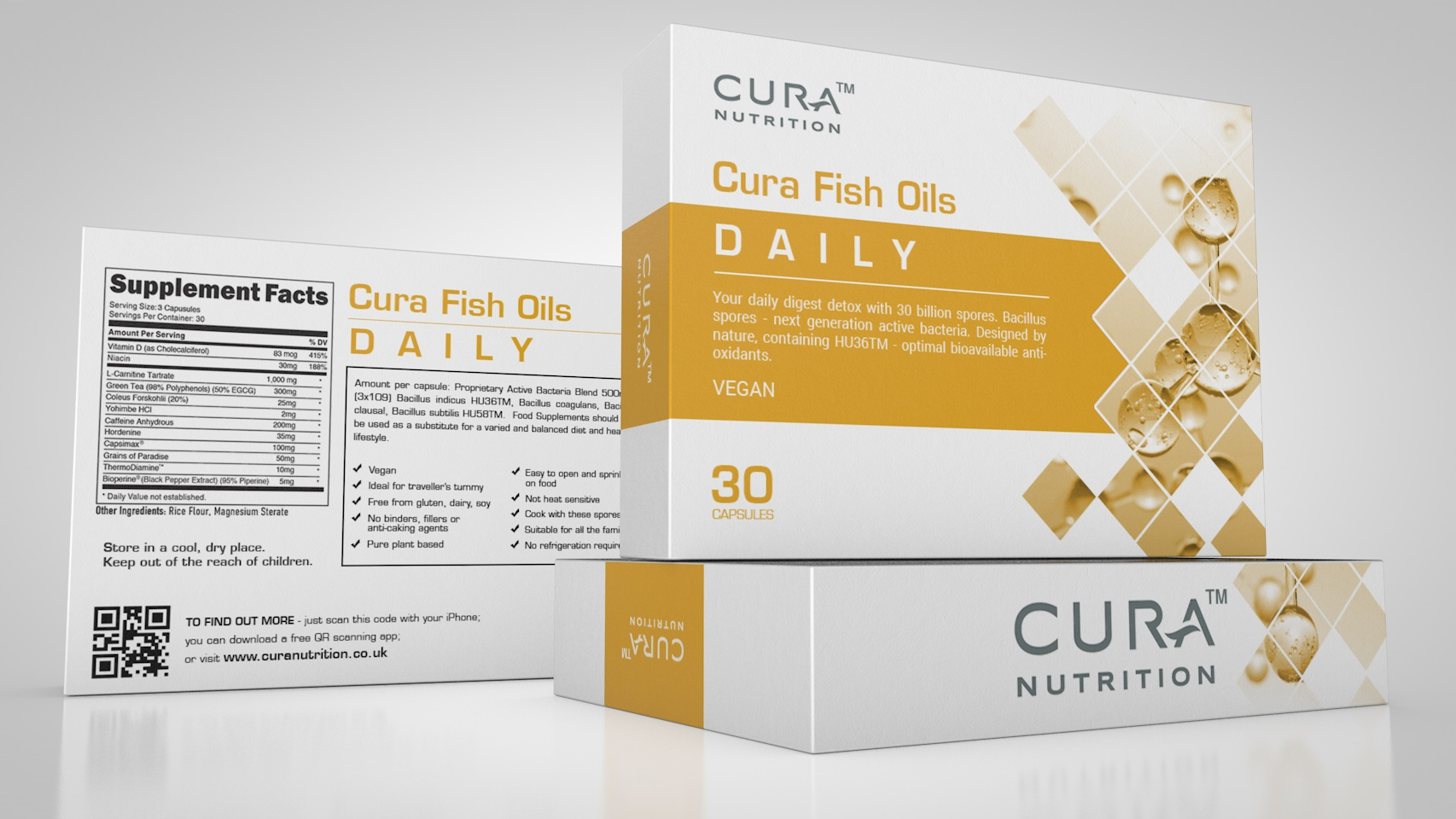 Cura Fish Oils